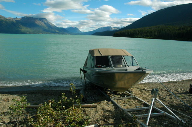 DDA-2000; Aluminum Ramp in the Yukon of Canada.