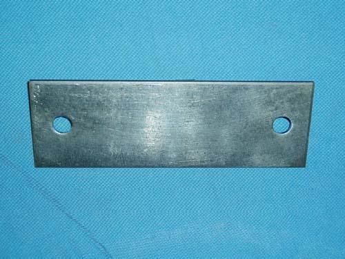 D-552; Rectangular Backing Plate