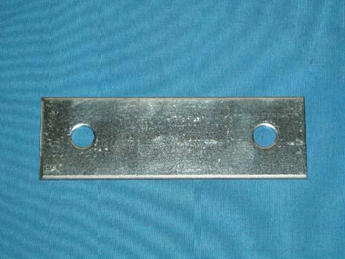 D-562; Rectangular Backing Plate.