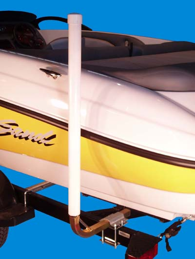 Boat Trailer Post Guide-Ons, T-945; 47 inch Tall model, Photo