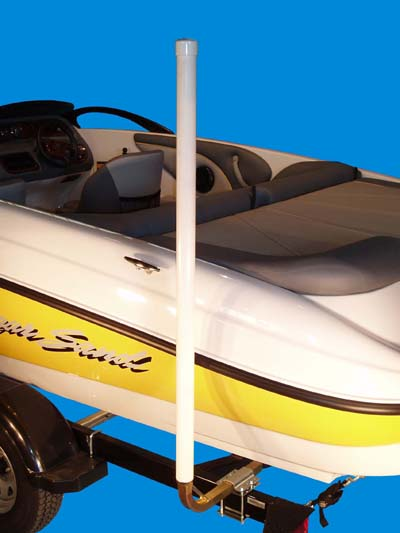 Boat Trailer Post Guide-Ons, T-965; 65 inch Tall model, Photo