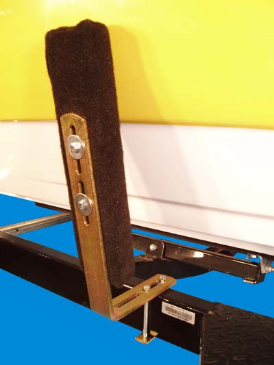 Bunk Guide-Ons, T-916; 16 inches long, Vertical, Image