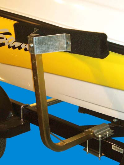 Bunk Guide-Ons, T-918; 18 inches long, Single Post, Image