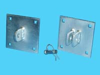 "D-420; ""T-Section Connector"" Floating Dock Bracket"