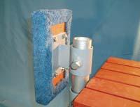 """D-540; Adjustable """"Bumper Bracket"""" ( For 1-1/4"""" pipe. ( 1-5/8"""" O.D. ))."""