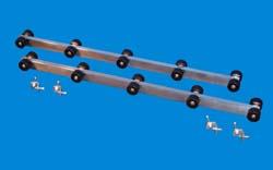 T-904; 1 Pair 4 ft. Roller Bunks