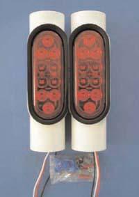 Pipe-Light Kit, T-1019; 1 Pair of LED Lights.