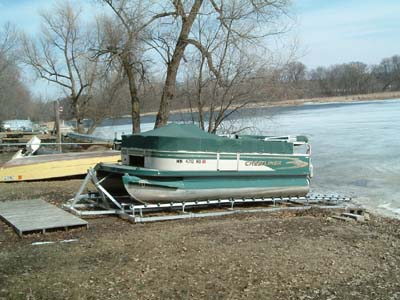 DDA-2500; ALUMINUM PONTOON RAMP.(#3)