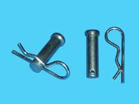 "D-464; ""Clevis Pins & Hitch Clips"". ( 2 of Each)"