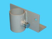 """D-555; """"Straight Bracket"""" ( For 1-1/2"""" pipe. ( 1-7/8"""" O.D. ))."""