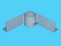 "D-566; ""Inside Corner Bracket"" ( For 2"" pipe. ( 2-3/8"" O.D. ))."