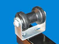 T-954-A; Keel Roller, Bracket & Mounting fasteners