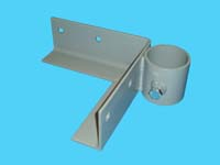 "D-560; ""Right Outside Corner Bracket"" ( For 2"" pipe. ( 2-3/8"" O.D. ))."