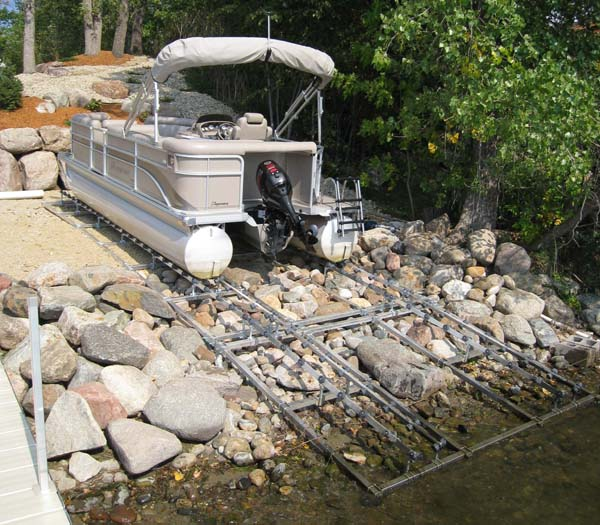 Pontoon Ramp; DDA-2500; ( 2500 pound capacity, 26-1/2' long )