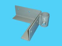 "D-580; ""Right Outside Corner Bracket"" ( For 1-1/4"" pipe. ( 1-5/8"" O.D. ))."