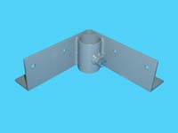 "D-586; ""Inside Corner Bracket"" ( For 1-1/4"" pipe. ( 1-5/8"" O.D. ))."