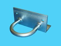 "D-452; ""Floating Straight Bracket"" ( For 2"" Pipe. ( 2-3/8"" O.D. ))"