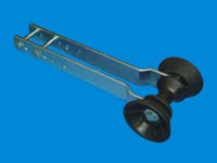 """T-992-16; """"BOW STOP ROLLER ASSEMBLY."""""""