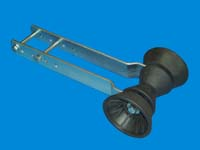 """T-990-16; """"BOW STOP ROLLER ASSEMBLY""""."""