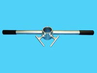 """D-595; """"Dock Pipe, Sand Auger Wrench."""""""