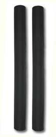 """Post Guide Pads, T-965-PO; 48"""" long ( OPEN Top ) ( 1 Pair )"""
