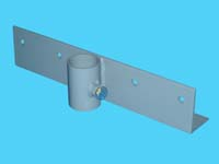 "D-550-L; ""Straight Bracket / Section Connector"" ( For 1-1/4"" Pipe. ( 1-5/8"" O.D.))."
