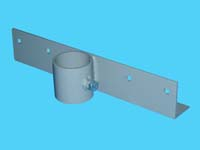 """D-556-L; """"Straight Bracket / Section Connector"""" ( For 2"""" Pipe. ( 2-3/8"""" O.D.))."""