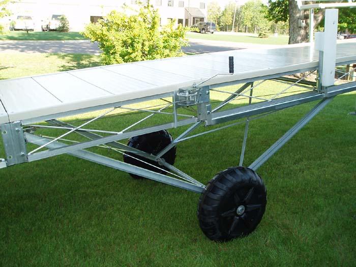 Aluminum Roll In Dock Dda 424 24 Ft With No Deck Ve Ve Inc