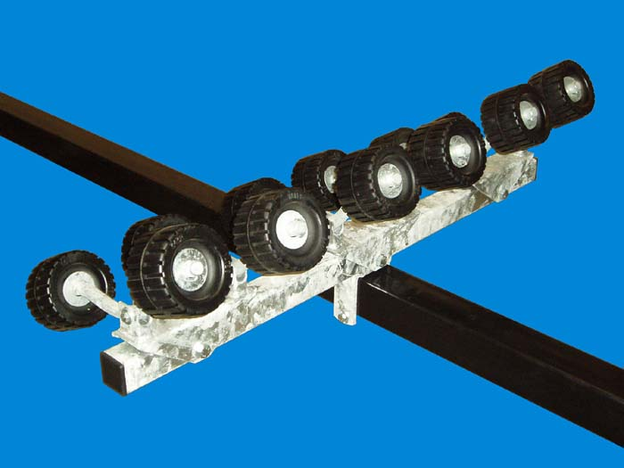 Wobble Roller Assembly, T-989-G; Extra Heavy Duty ( 1 Pr. ).