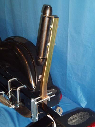 Boat Trailer Roller guide ons, T-910; Side Mount model, Image