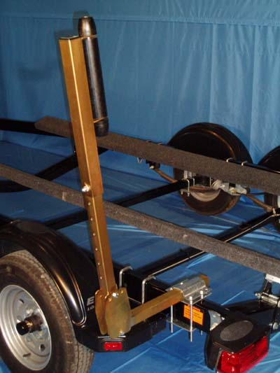 Boat Trailer Roller Guide-Ons, T-930; 3-Way Adjustable, Photo