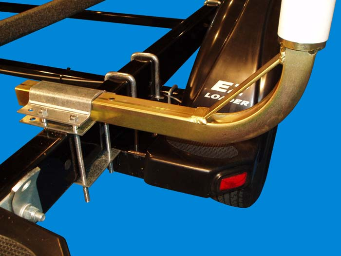 Boat Trailer Post Guide-Ons, T-945; 47 inch Tall model, ( Close Up )
