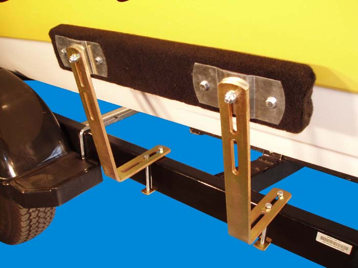Boat Trailer Bunk Guide-Ons, T-924; 2' Bunks model, Photo