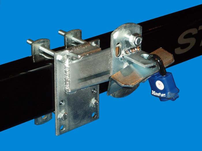 Spare Tire Carrier, SM-96; Small, Locking, Image