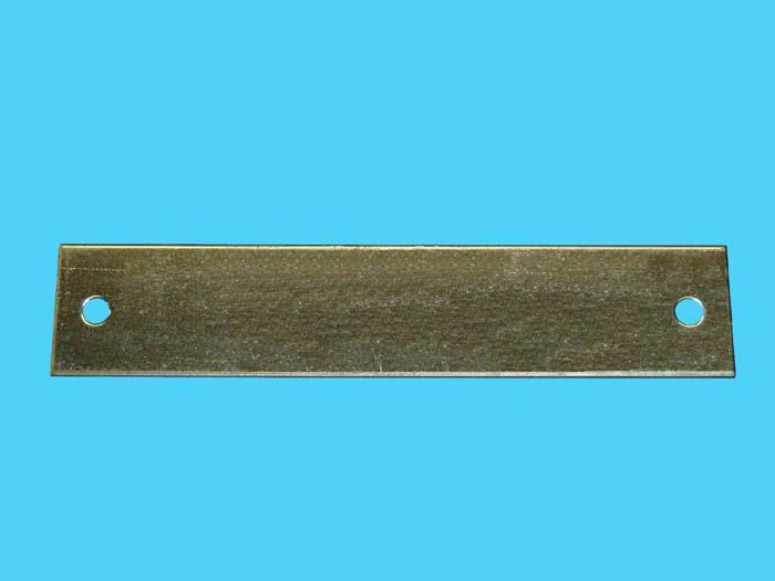 D-557; Rectangular Backing Plate.