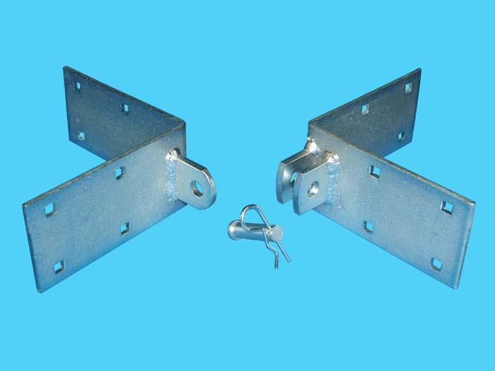 D-430; Corner Tie Section Connector.