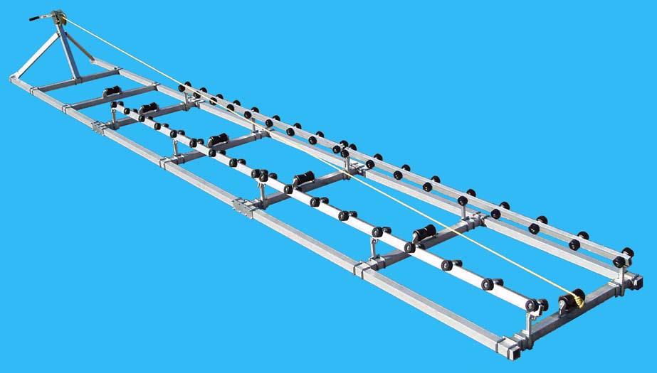 Boat Roller Ramp, DDA-2000; ( 2000 pound capacity, 24 ft. long ), Photo