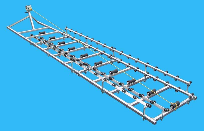 Boat Roller Ramp, DDA-3000; ( 2600 pound capacity, 24 ft. long ), Photo