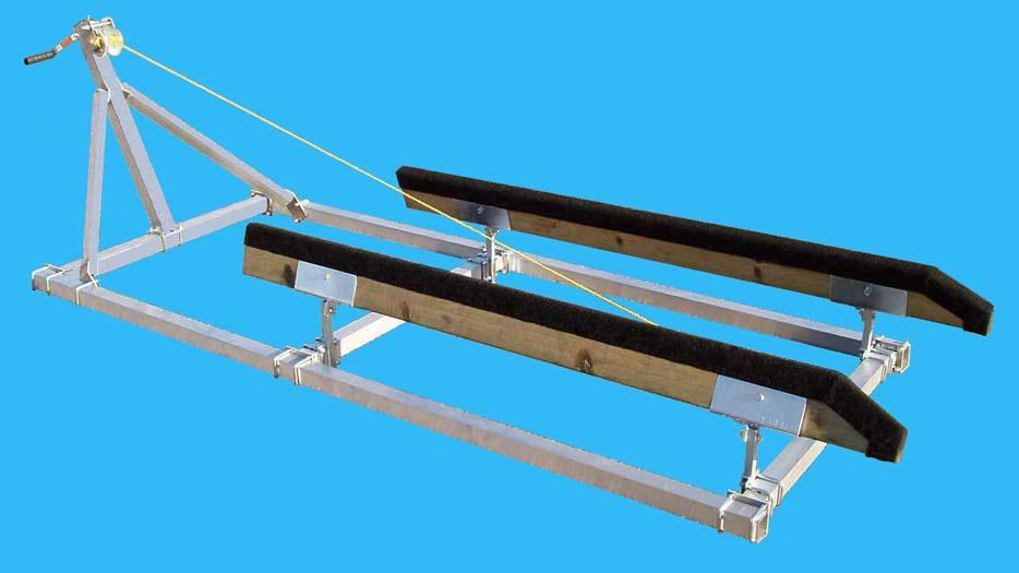PWC Roller Ramp | DDA-PW8, 1000# Cap. 8 Ft. Long | VE-VE Inc.