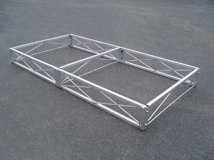 Aluminum Dock Frame 4 X 8 Aluminum Dock Section No