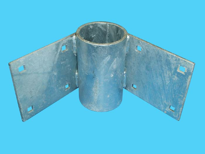 D3-436; Inside Corner Angle Tie w/ Pipe Sleeve