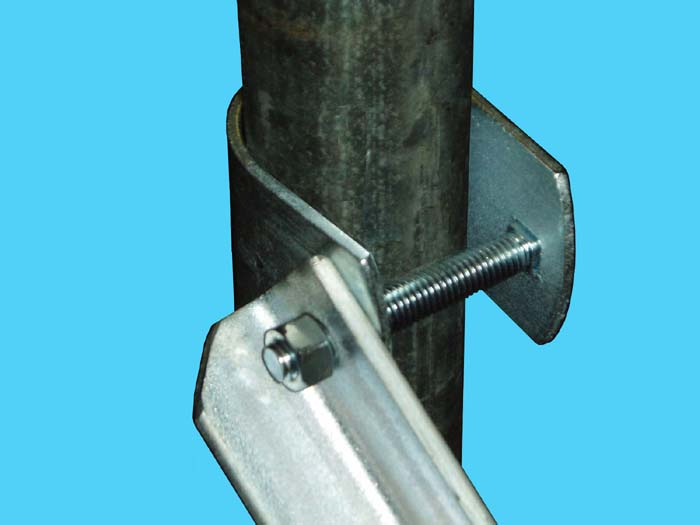 D-638-80; Stabilizer Bar, Clamp Close Up