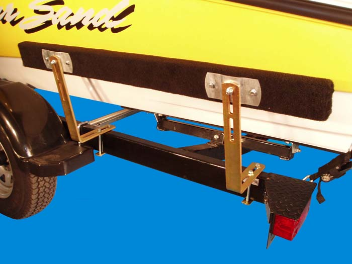 Boat Trailer Bunk Guide-Ons, T-948; 4' Bunks model, Photo