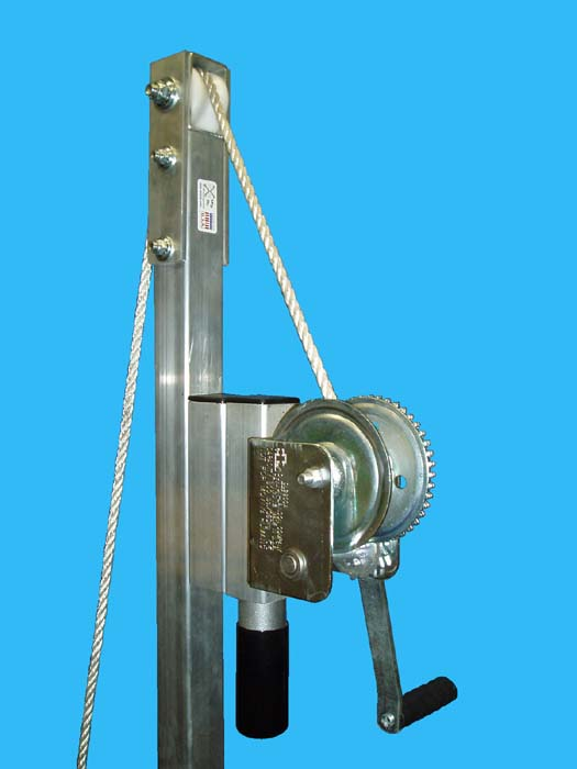 BLJ-60, winch & pully ( close up )