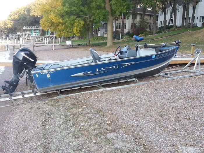 DDA-2000; Aluminum Boat Ramp (1)