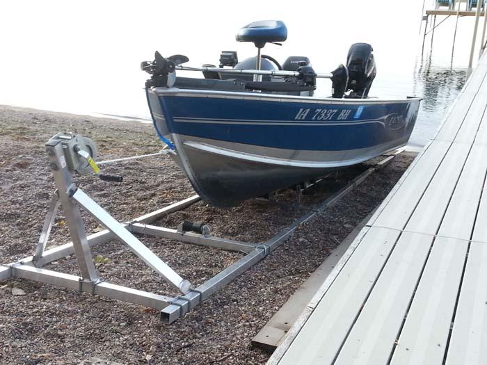 DDA-2000; Aluminum Boat Ramp (2)