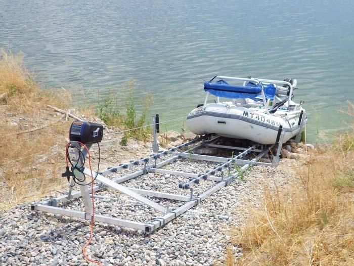 DDA-2000; Special made Boat Ramp (1)