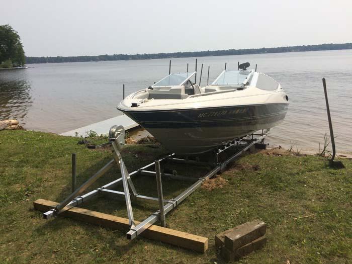 DDA-2000; 24' Boat roller Ramp. (1)
