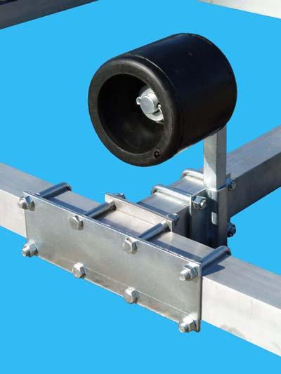 Stiffener Plate & Wobble Roller (Close Up)