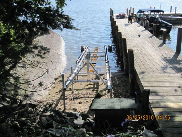 DDA-2000: Aluminum Boat Ramp.